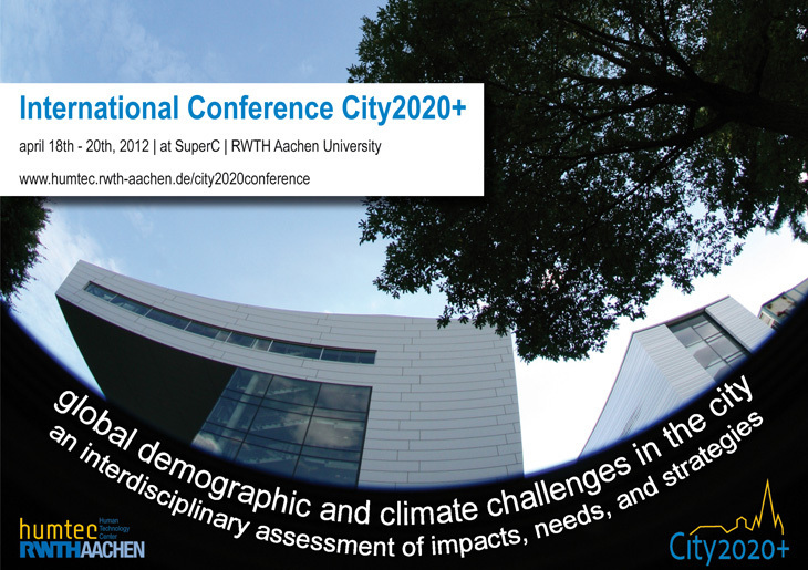 Conference Flyer - City2020+